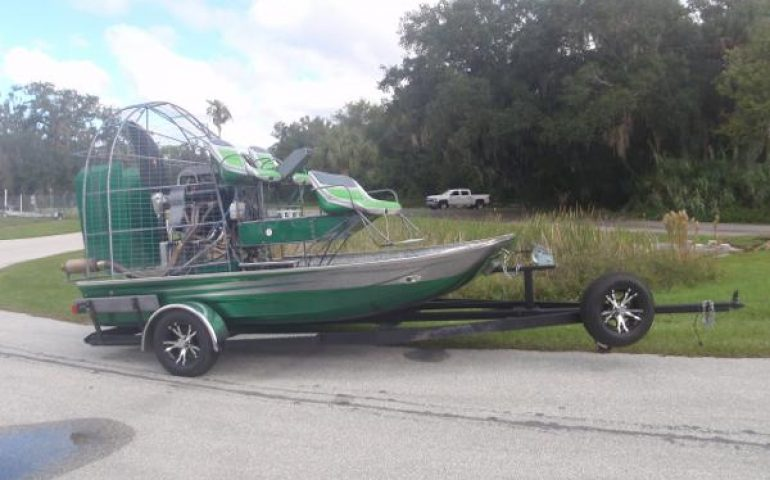 2015 Jimmy White 14 X 8 Airboat - Boatsellr